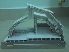 Architecture and Structure Steel Trusses, Online Journal, Concrete Wood, Glass Floor, Architecture, Models, Gd, Pavilion, Presentation