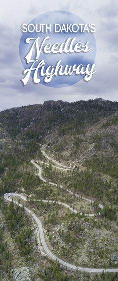 Driving Down The Needles Highway In South Dakota