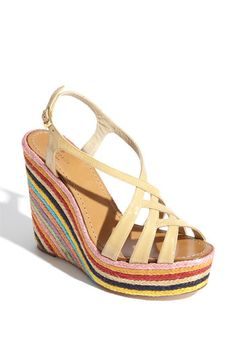 Put this into products i love instead of want - probably not getting these $275 sandals, but oh how fabulous they are!