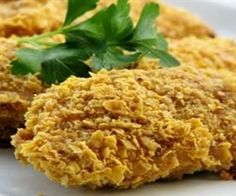 Cereal Crusted Chicken Recipe - LuvRecipes.com