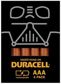 Empaque 'pop culture' de Duracell