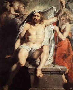 Peter Paul Rubens, (1577-1640): Resurrección de Cristo. Jesús, con su resurrección, garantiza la nuestra.