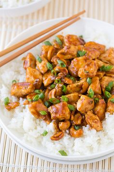 Cashew Chicken - this only takes about 25 minutes to make and it's delicious!