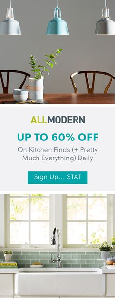 Kitchen - Sign up now for FREE SHIPPING on orders over $49 at allmodern.com!