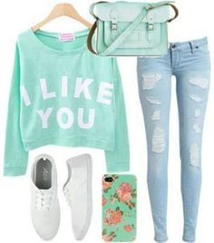 cute casual outfits with long sleeves