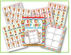 Hold on to your Gum Drops. It's a Gingerbread Man Differentiated and Aligned Freebie!!!  SWEET!!!  Freebielicious: Roll Say Keep Gingie!