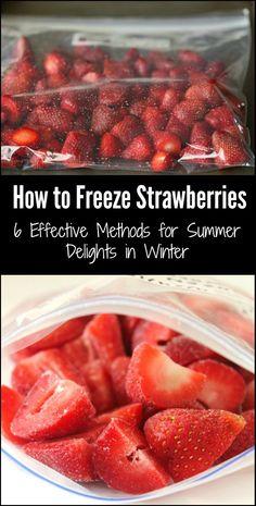 How to Freeze Strawberries: 6 Effective Methods for Summer Delights in Winter