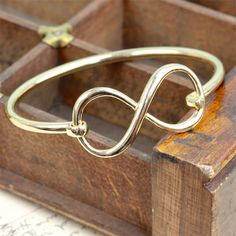 Infinity Bangle from notonthehighstreet.com