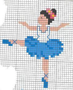 ♥ My Dot Graphics Cruz ♥: Ballerinas Wedding Cross Stitch Patterns, Easy Cross Stitch Patterns, Cross Stitch For Kids, Mini Cross Stitch, Simple Cross Stitch, Crochet Stitches Patterns, Cross Stitch Flowers, Cross Stitch Charts, Cross Stitch Designs
