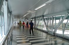 The elevated KLCC - Bukit Bintang Pedestrian Walkway #Malaysia #KL