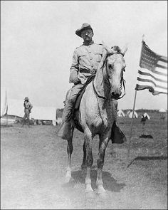 Shop for ''Theodore Roosevelt, Rough Riders, Montauk Point, NY, by McMahan Photo Archive Americana Art Print x 8 in. Get free delivery On EVERYTHING* Overstock - Your Online Art Gallery Store! The Spanish American War, American History, American Lion, American Presidents, Us Presidents, Presidential History, Presidential Portraits, Theodore Roosevelt, Roosevelt Family