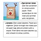 This is a template of a Rudloph the Reindeer bag. This is a Christmas craft activity that you can do with 2nd to 3rd grade level students. It inclu...