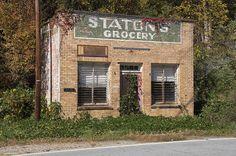 Staton's Grocery near Tuxedo, NC.