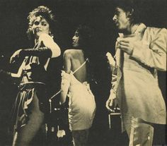 Vanity and Prince onstage in '83. Love it!
