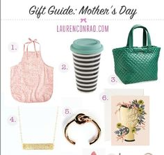 Gift Guide: Mother's Day - I want all this stuff!! Xoxo