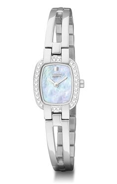 Mesa Jewelers - Womens Bangle Silhouette Citizen Eco-Drive Watch , $168.00 (http://www.mesajewelers.com/womens-bangle-silhouette-citizen-eco-drive-watch/)