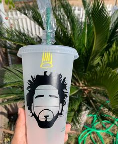 Personalized Starbucks Cup, Custom Starbucks Cup, My Starbucks, Personalized Cups, 1 Year Anniversary Gifts, Custom Cups, Tumbler Designs, J Cole, Cup Design