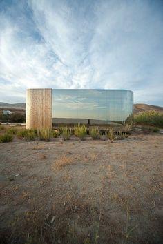 http://www.archilovers.com/p76751/non-program-pavilion    Jesús Torres García Architects / Non program pavillion / Spagna    #archilovers #invisible #architecture #nature #wood #reflections