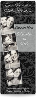 Photo Booth Save the Date Magnets - Paisley Paradise