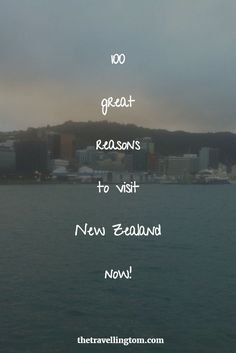 There are many reasons to visit New Zealand from the beautiful beaches to the amazing cities. If you need some convincing to visit special New Zealand, then you need to read this!