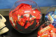 Halloween Candy Bar for Teachers