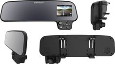 Papago GS260 - Papago US GoSafe 260 - Front With 2.7-in LCD, Controll Buttons And Back View With Dashcamera
