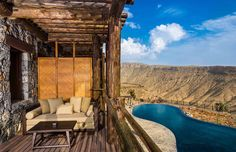 Alila Jabal Akhdar, relax entre las montañas de Omán