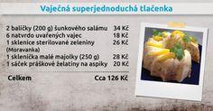 Recepty Ládi Hrušky - Vaječná superjednoduchá tlačenka