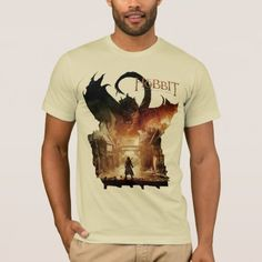 The Hobbit - Laketown Movie Poster T-Shirt - tap, personalize, buy right now! Movie T Shirts, The Hobbit, American Apparel, Fitness Models, Middle Earth, Stylish, Mens Tops, Movie Posters, How To Wear