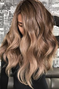 You Can Now Get The Coolest Hair Color In L.A. — Wherever You Live #refinery29 What to ask for: Rose-gold ombré What a difference a base makes. Tang used #Mydentity Rose Gold for this look too, but instead layered it over the model's brown ombré hair for a more subdued look. This allowed the lighter pieces to get that rose gold feel, without looking too overdone, says Tang. It's wearable.