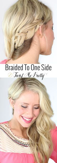 Such an elegant, simple style.  Come learn how to get the perfect braid at Twist Me Pretty