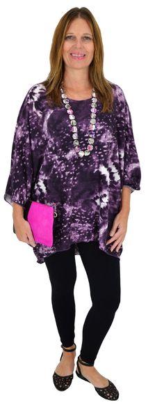 Purple Paradise Tunic