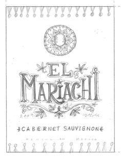 El Mariachi Collection by Steve Simpson, via Behance