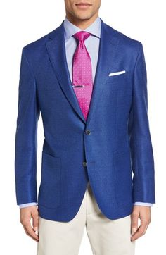 David Donahue Aiden Classic Fit Wool Blazer available at #Nordstrom