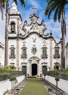 Ordem Terceira do Carmo Church - Recife - Brazil /  © Alexandre F de Fagundes