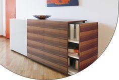 Sliding Door and Top  www.modernmillworkinnovations.com    EKU AG - EKU-COMBINO L 40 Forslide (FS)
