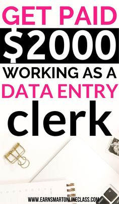 10 Best Data Entry Jobs From Home 10 Best Data Entry Jobs From Home,Creating Wealth Want to earn money from home doing data entry? Here are 10 data entry jobs from home jobs. Easy Online Jobs, Online Jobs From Home, Home Jobs, Online Work, Work From Home Careers, Work From Home Opportunities, Work From Home Tips, Earn Money From Home, Earn Money Online