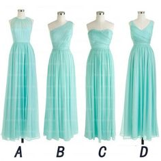 long bridesmaid dresses, mismatched bridesmaid dress, cheap bridesmaid dress…                                                                                                                                                                                 More