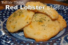 Better Than Red Lobster Biscuits!  Grain-Free & Low-Carb