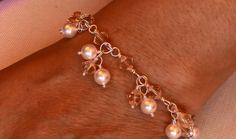Wirewrapped Cluster Bracelet