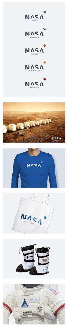 Proposta de redesign para o logo da Nasa