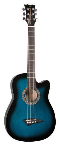 Dean Playmate Small Acoustic Guitar, Blueburst with Gig Bag, 37-inch Cutaway by Dean Guitars, $93.00 http://www.amazon.com/dp/B0002E1V2U/ref=cm_sw_r_pi_dp_IYNXqb076KH24