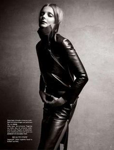 Dark Venus   Eniko Mihalik   Patrick Demarchelier #photography   Vogue Germany August 2012