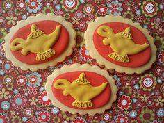 Aladin's magic lamp cookies