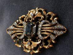 An antique art nouveau huge gold vermeil