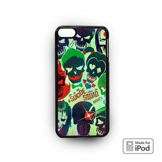 Suicide Squad poster trippy for iPod 6 cases