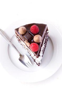 Raspberry Marshmallow Chocolate Layer Cake — Sweetest Menu