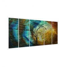 All My Walls New Season by Megan Duncanson, Abstract Wall Art - 23.5 x 52 - MAD00007