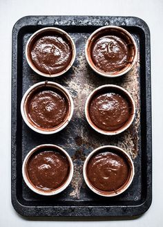 A CUP OF JO: Salted Caramel Molten Chocolate Cakes