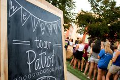 Mississippi College #partyonthepatio CAB kick off event